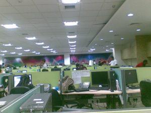 आमचा फ्लोर..भायन्दर ऑफीस चा (2)
